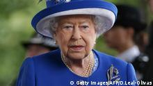 Königin Elizabeth II. London Grenfell Tower