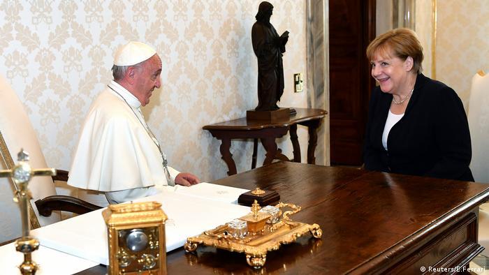 Vatikan Angela Merkel Papst Franziskus