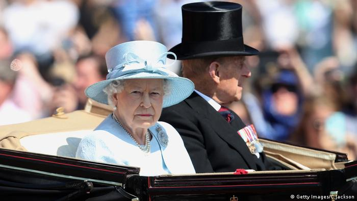 Trooping The Colour 2017 Geburtstagsparade Königin Elizabeth II (Getty Images/C.Jackson)