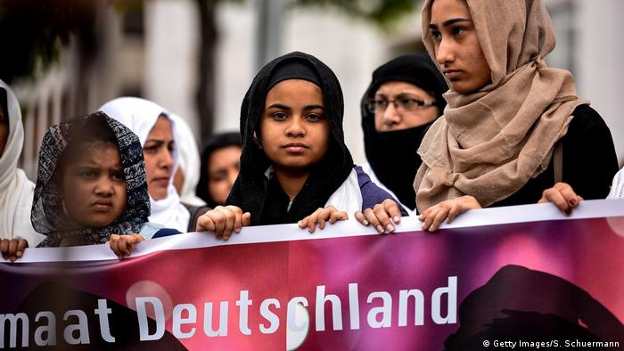 German Muslims (Getty Images/S. Schuermann)