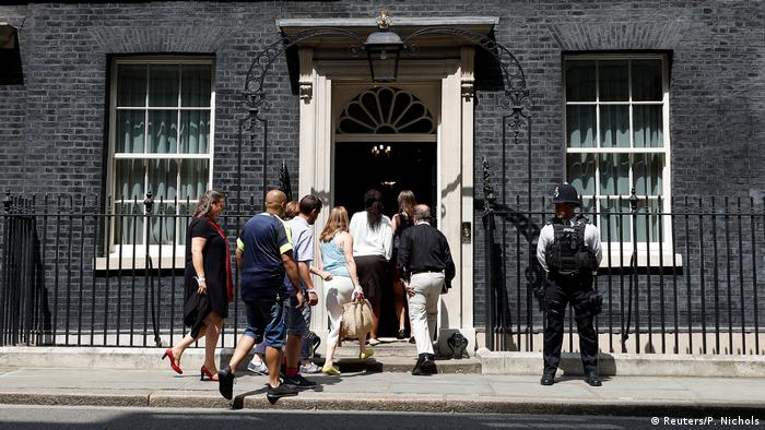 London 10 Downing Street Grenfell Feuer Opfer (Reuters/P. Nichols)