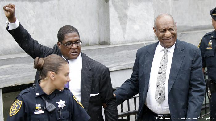 USA Bill Cosby Prozess in Norristown (picture-alliance/newscom/J. Angelillo)