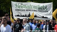 Berlin Demonstration Identitäre Bewegung