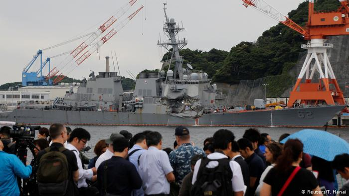 US Navy Zerstörer USS Fitzgerald (Reuters/T. Hanai)