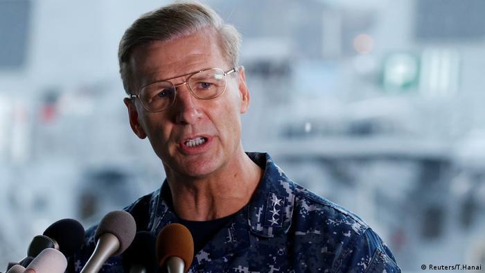Joseph Aucoin USS Fitzgerald (Reuters/T.Hanai)