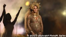 USA Beyonce bei den Grammy Awards