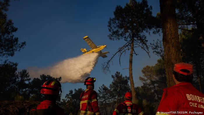 Portugal Waldbrände (Imago/ITAR-TASS/M. Pochuyev)