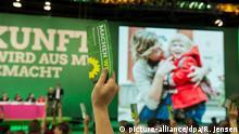 Berlin Bundesparteitag Die Grünen Schlussabstimmung