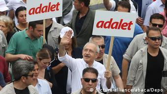 Ο αρχηγός του Ρεπουμπλικανικού Λαϊκού Κόμματος Κεμάλ Κιλιτζντάρογλου