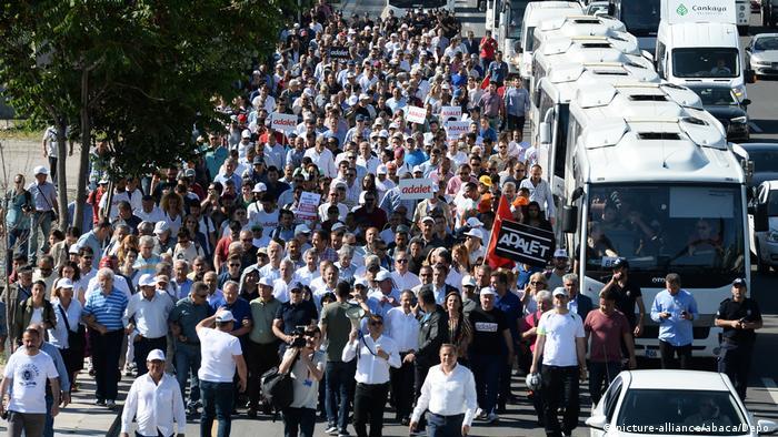Türkei CHP Opposition Marsch für Gerechtigkeit (picture-alliance/abaca/Depo )
