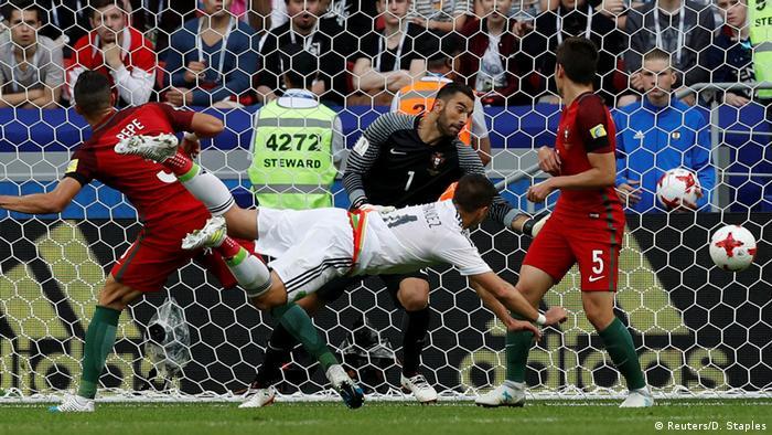 Confed-Cup Portugal vs Mexiko (Reuters/D. Staples)