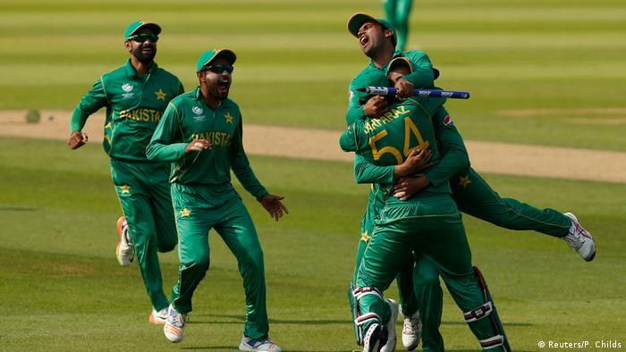 ICC Champions Trophy Sieger Pakistan (Reuters/P. Childs)