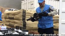 Kolumbien Entwaffnung der Farc-Rebellen