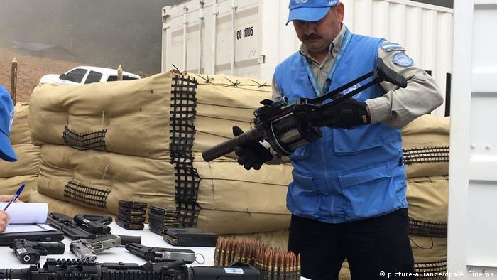 Farc entrega armas