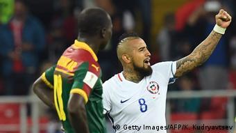 Confeg Cup 2017 Chile vs Mexiko Juebl