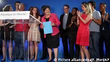 Die vorsitzende der Partei «La Republique en Marche» Catherine Barbaroux