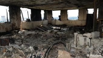 Nach dem Hochhausbrand in London (Reuters)
