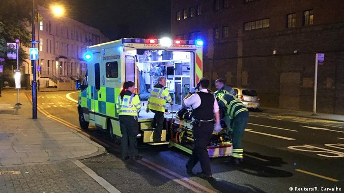 England Polizei - Mehrere Opfer bei Vorfall in London