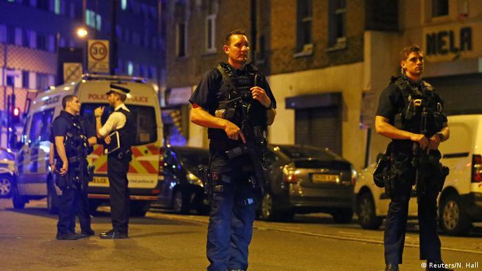 England Polizei - Mehrere Opfer bei Vorfall in London (Reuters/N. Hall)