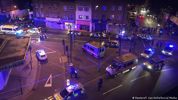 England Polizei - Mehrere Opfer bei Vorfall in London (Reuters/T. Van Hulle/Social Media)