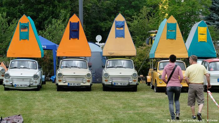 На международной встрече владельцев Trabant в Цвиккау
