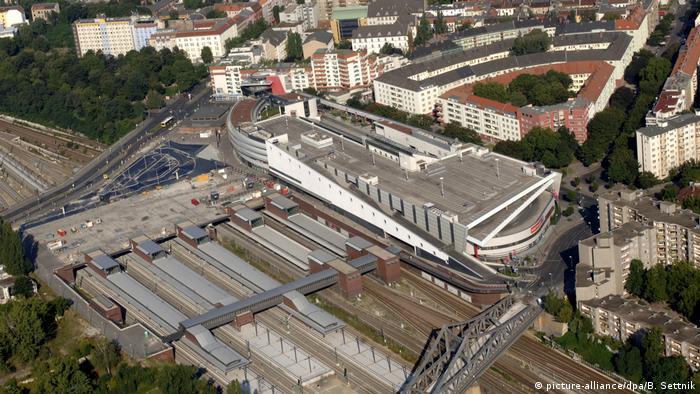 Станция городской железной дороги и метро Gesundbrunnen