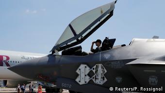 To μαχητικό αεροσκάφος F-35 Lightning