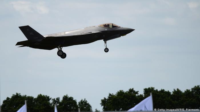 Frankreich Le Bourget Luftfahrtmesse Lockheed Martin F-35 (Getty Images/AFP/E. Piermont)