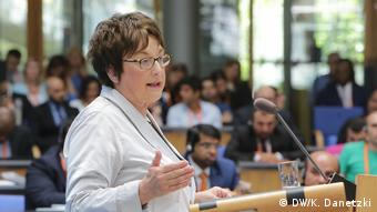 Brigitte Zypries (Federal Minister for Economic Affairs and Energy, Germany) (DW/K. Danetzki)