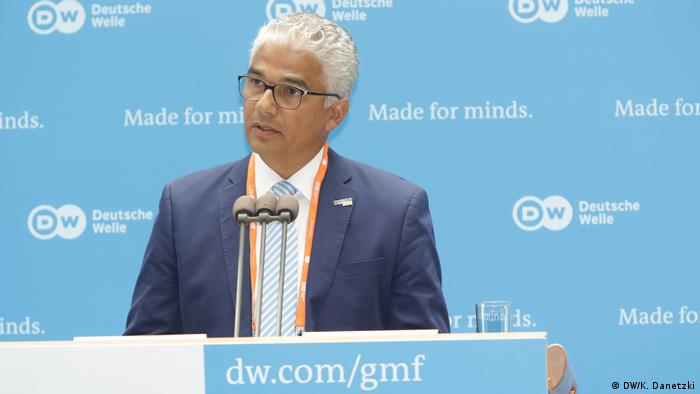 Ashok Sridharan (Lord Mayor, City of Bonn, Germany) (DW/K. Danetzki)