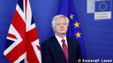 Brexit Verhandlungen beginnen David Davis PK in Brüssel