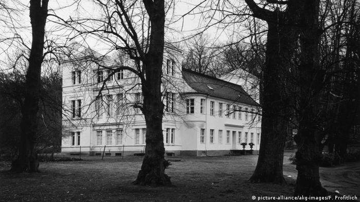 Schloss Tegel, Alexander von Humboldt's childhood home on the outskirts of Berlin.
