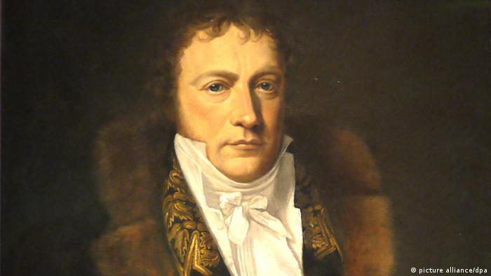 Gemälde - Wilhelm von Humboldt von Gottlieb Schick