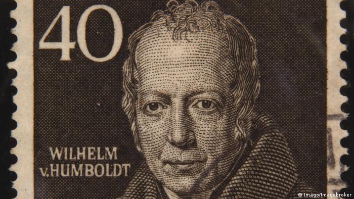 Wilhelm von Humboldt - Briefmarke 1952 (Imago/Imagebroker)