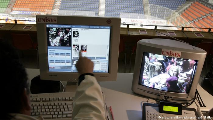 Biometic systems have been used for security at big sporting events