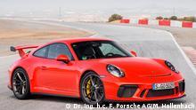 BU: Porsche 911 GT3 2017 © Dr. Ing. h.c. F. Porsche AG