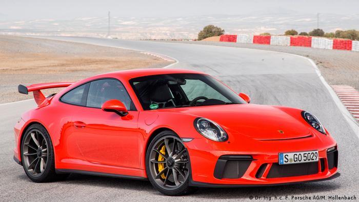Porsche 911 GT3 2017 (Dr. Ing. h.c. F. Porsche AG/M. Hollenbach)
