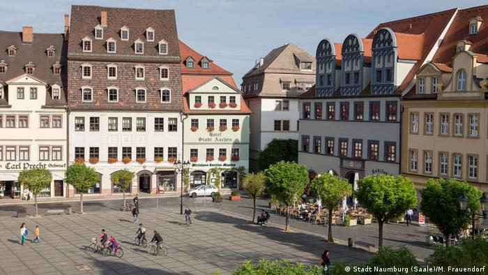 Rund um Naumburg – Marktplatz (Stadt Naumburg (Saale)/M. Frauendorf)