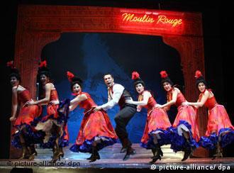 Tanzszene aus einem Musical