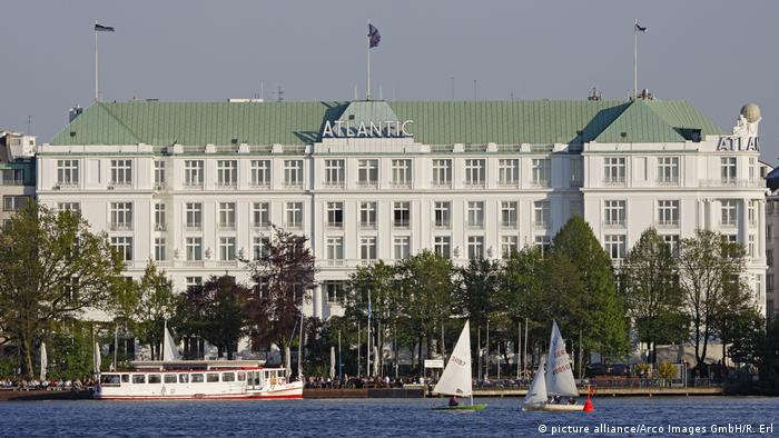 Hamburg - Hotel - Hotel Atlantic Kempinski (picture alliance/Arco Images GmbH/R. Erl)