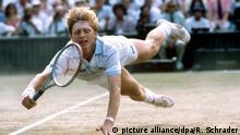 Tennis Wimbledon 1985 - Boris Becker