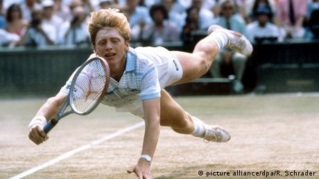 Tennis Wimbledon 1985 - Boris Becker (picture alliance/dpa/R. Schrader)