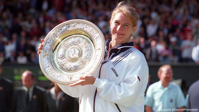 Tennis Wimbledon 1996 - Steffi Graf