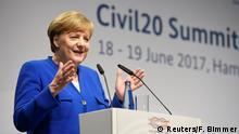 Deutschland C20 Gipfel in Hamburg Angela Merkel