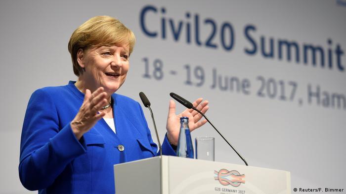 Меркель застерегла членів G20 від одноосібних дій