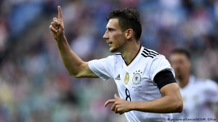 Leon Goretzka in Germany's Confederations Cup game against Australia (picture-alliance/GES/M. Gilliar)