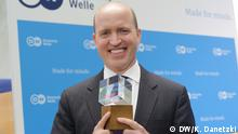 Winner of the Deutsche Welle Freedom of Speech Award 2017: White House Correspondents' Association; Award accepted by Jeff Mason (President, White House Correspondents' Association, USA)