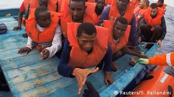 Από επιχείρηση διάσωσης προσφύγων στα ανοιχτά της Λιβύης στις αρχές της εβδομάδας
