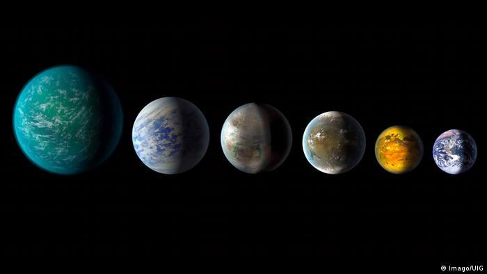 Exoplaneten (Imago/UIG)