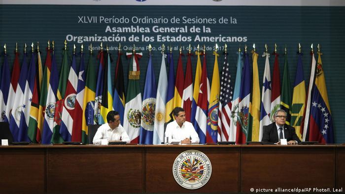 Mexiko Vollversammlung der Organisation Amerikanischer Staaten (OAS)